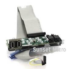 Dell Optiplex 740 745 USB Audio I/O Control Panel Board CG250 TJ853 RH537