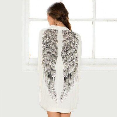 Newest Eagles Wings Women's Bat Sleeve Cardigan Jacket Women Sunscreen Clothing