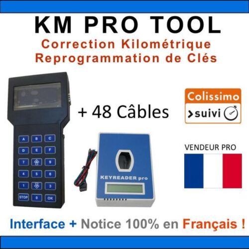 Valise de CORRECTION KILOMÉTRIQUE en Français TACHO PRO 2008 KIT COMPLET