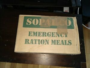SOPAKCO MRE-Low Sodium Emergency Ration Meals