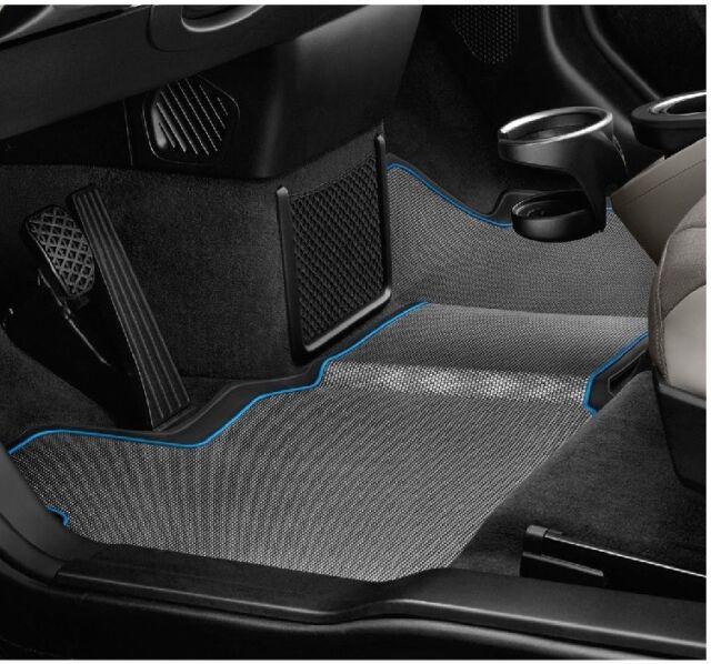 vidaXL Set de alfombrillas coche a medida goma 4 pzas VW Passat B6 B7