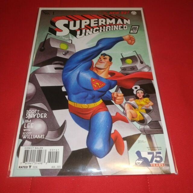 Superman Unchained #1 Bruce Timm 1:100  1930 variant New 52 Scott Snyder Jim Lee