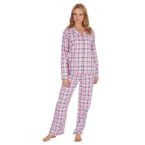 Ladies Cotton PJ Set Flannel Jersey Pyjama Set PJ Loungewear Forever Dreaming