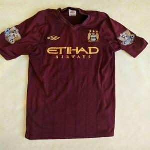 Manchester City 2012/2013 Away Size S Umbro football shirt jersey soccer