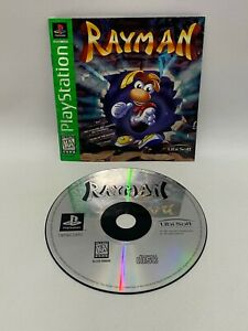 Rayman Sony PlayStation 1 PS1 Video Game Disc Only w/ Manual Tested