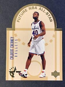 1993-94-Upper-Deck-SE-East-All-Stars-E15-Calbert-Cheaney-Bullets-Die-Cut-H18