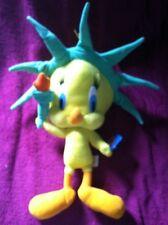 Looney Tunes Tweety Bird Statue Of Liberty Plush