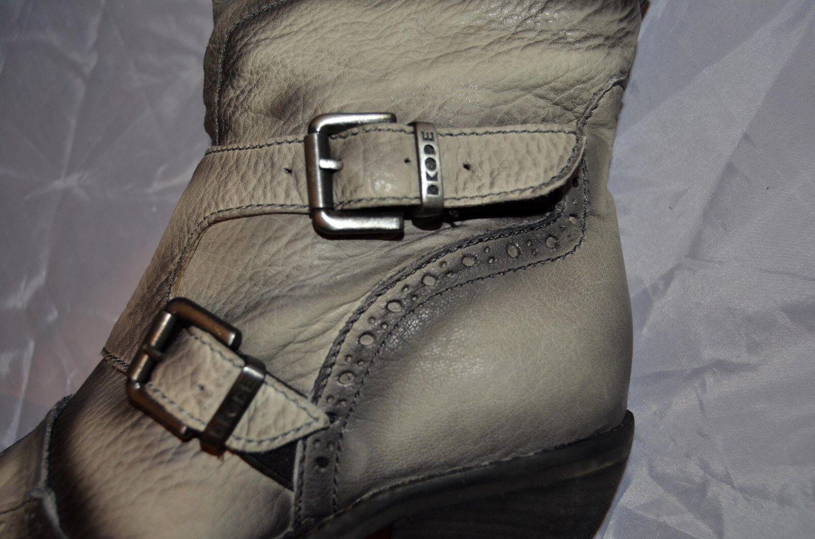 DKODE botas aerógrafo aerógrafo aerógrafo óptica hebillas Western look nuevo cuero 239, ms247 533dda