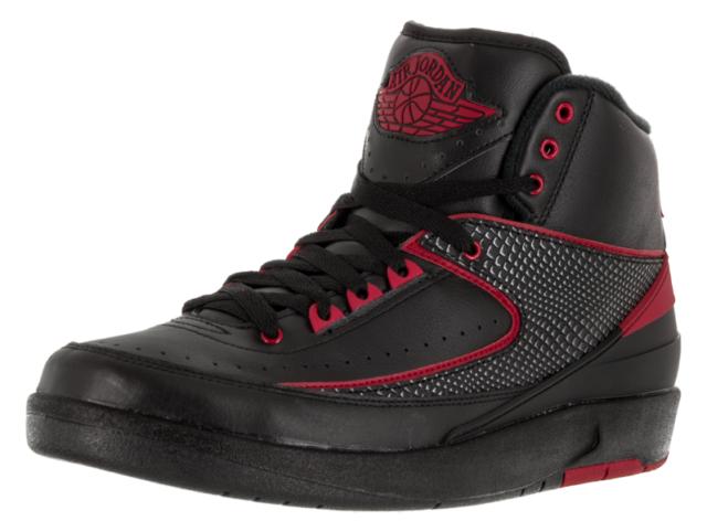 40f79ef675f1 Nike Air Jordan II 2 Retro Alternate 87 Black Red 834274-001 Sz 9 ...