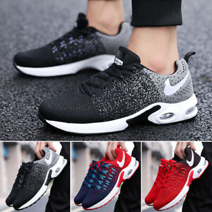 8b97353d1d0 Details about Mens Womens Air Bottom Sports Shoes Casual Sneakers Athletic  Runing Trainers