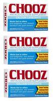 Chooz Antacid Calcium Supplement - 12 Mint Gum Pieces (pack Of 3) on sale