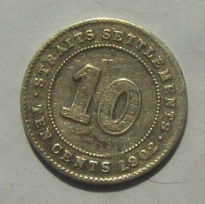 Asien, mønter, 10 Cents