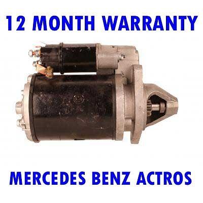 MERCEDES BENZ ACTROS 2053 2631 1996-2002 RMFD STARTER MOTOR