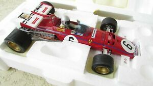 1:18 Exoto 1971 Ferrari 312b Voiture De Course F1 Monaco Grand Prix M.andretti