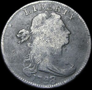 1798/7 Draped Bust Large Cent Penny  ----  Nice Type Coin   ---- #K460