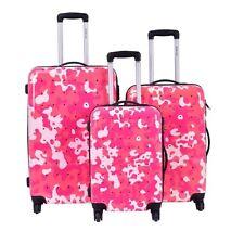 It Luggage Urban Jungle Lite 3 Piece Set Pastel Pink Camo Print ...