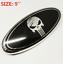 9-039-039-Black-Punisher-Emblem-Oval-Front-Grill-Badge-For-FORD-TRANSIT-VAN-MK7-FOUCUS thumbnail 1