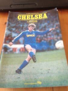 CHELSEA V ARSENAL - DIVISION 1 - 7/3/1987 | eBay