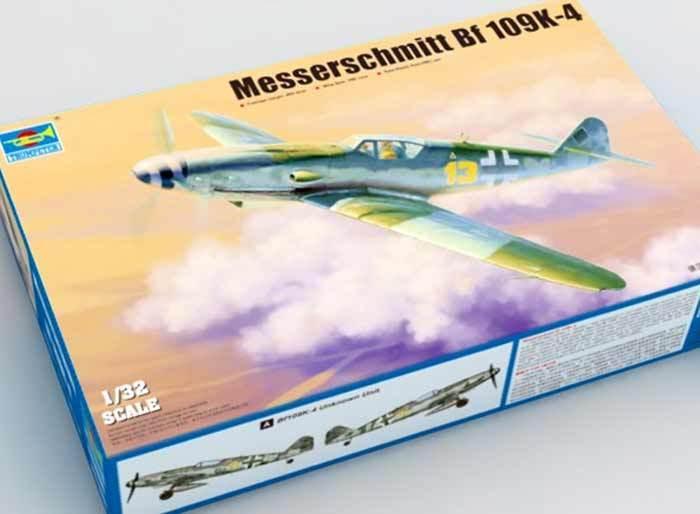Trumpeter Messerschmitt Bf 109K-4 III     JG52 II  JG77 + Pieces Gravées 1 3 2 9b34c7