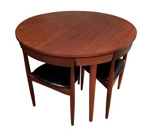 Image Is Loading Frem Rojle Hans Olsen Teak Dining Set Table
