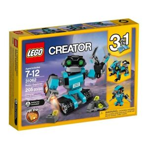 Lego Creator Robo Explorer 31062 Robot Toy 2day Ship For Sale Online