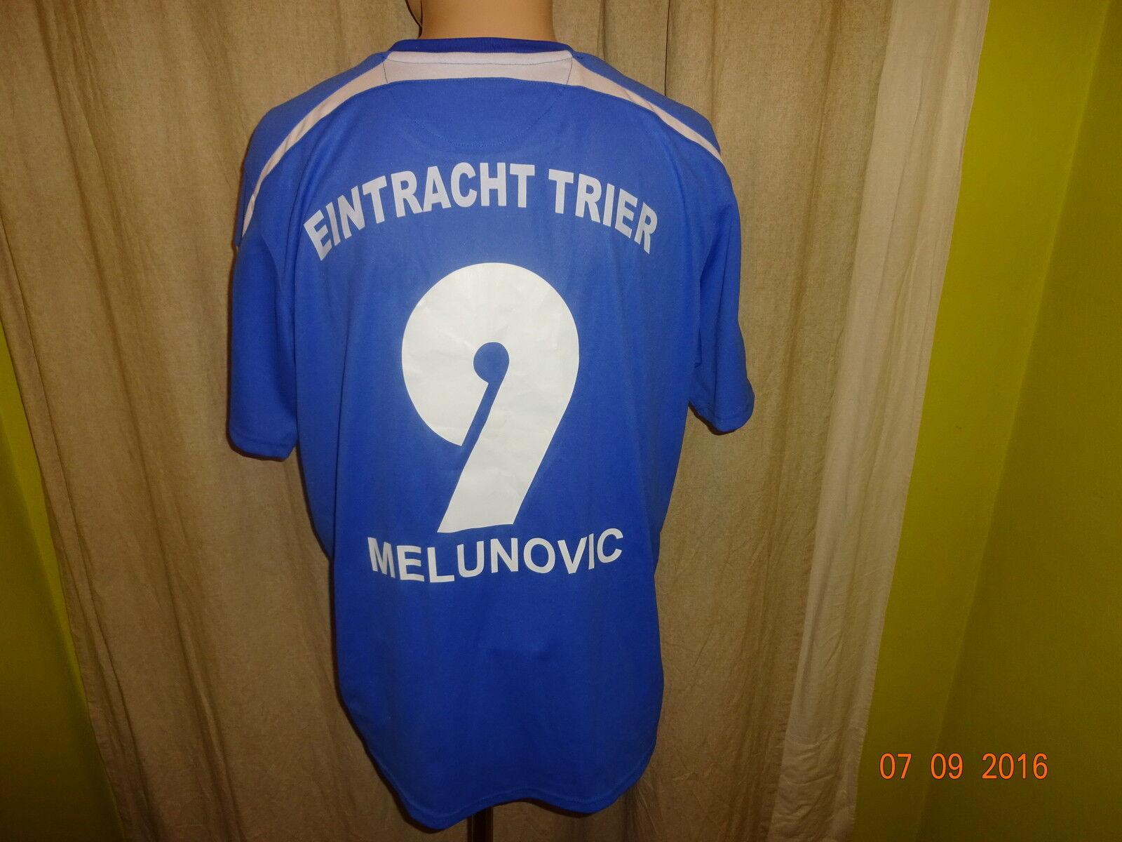 Eintracht Trier Nr.9 uhlsport Heim Matchworn Trikot 2008/09 + Nr.9 Trier Melunovic Gr.L 63e56f