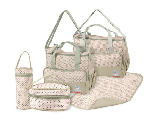 Multi-Function Baby Diaper Nappy Bag//Mummy Changing Set Handbag Multi-Colours
