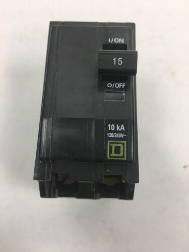 Square D QO215CP 15 Amp Two-Pole Circuit Breaker