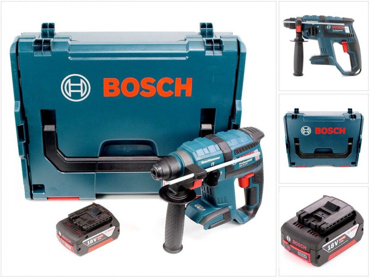 Bosch GBH 18 V-EC Akku Bohrhammer brushless SDS-Plus 18 V 1,7 J+1x Akku 5,0 Ah