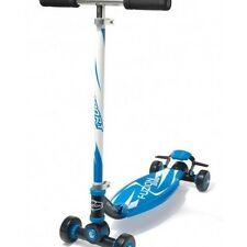 Fuzion Scooter Sport 4-Wheel Beginner Carving Kick Skateboard Kids Outdoor Blue