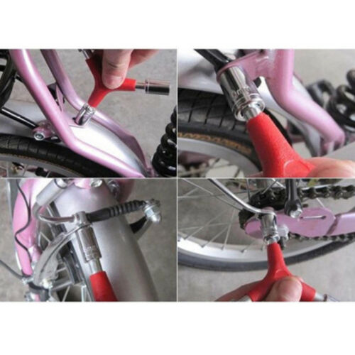 Red Bike Wrench Bicycle Sockets Y Type Shaped Hex Wrench Socket Tool MP