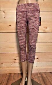 a626158182 RBX Women Capri legging Small Medium Large & XL Pink Multi Space Dye ...