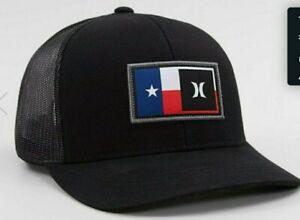Hurley Mens Destination Curved Bill Trucker Baseball Cap Hat