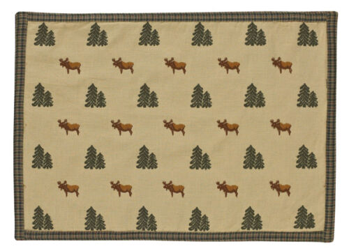 Northern Exposure Moose Cotton Placemat