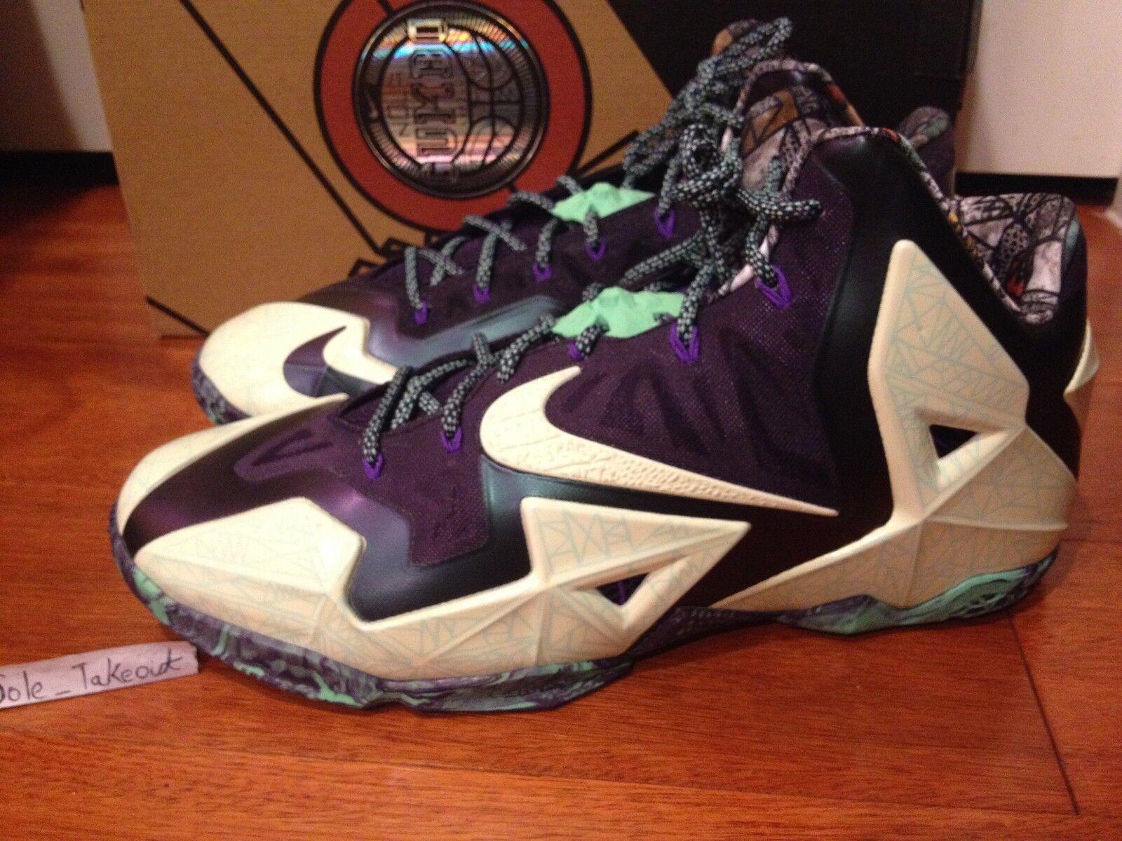 Nike LeBron XI All Star Nola ASG brillan en la la en oscuridad 647780-735 reducción de precios nuevos zapatos para hombres y mujeres, el limitado tiempo de descuento 3c00a5