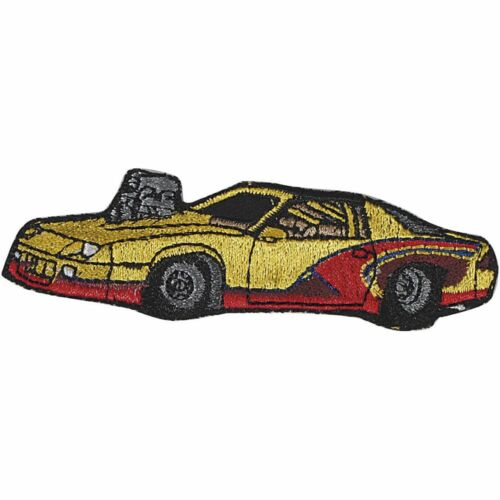 Aplicación parches Stick emblema 10x3 cm turismos culto coches de carreras speeder 03104
