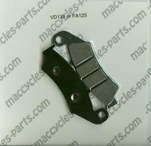 Honda-Disc-Brake-Pads-NX250-NX250J-1988-1991-Front-1-set