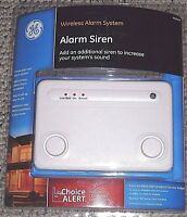 Ge Choice Alert Wireless Alarm System Siren 4513 Security Home Office Safe