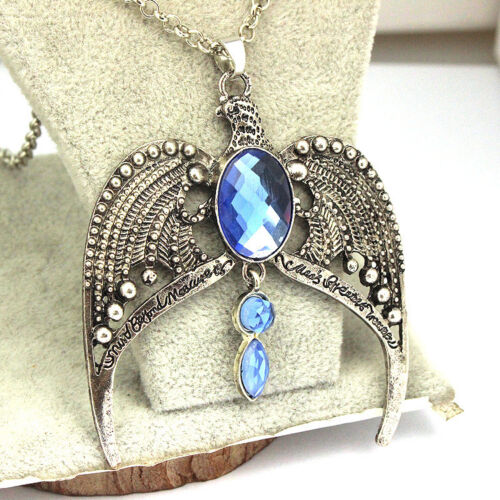 Harry Potter Ravenclaw Lost Diadem Tiara Crown Horcrux Necklace Pendant Cosplay