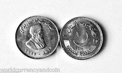 PAKISTAN NEW 50 RUPEE DR 2018 RUTH PFAU COMMEMORATIVE COIN UNC LOW MINT 2017