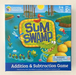 SUM SWAMP juego de suma y resta