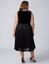 Lane-Bryant-Velvet-Pleated-Midi-Dress-Womens-Plus-20-22-Black-Lace-Skirt-2x-3x thumbnail 4