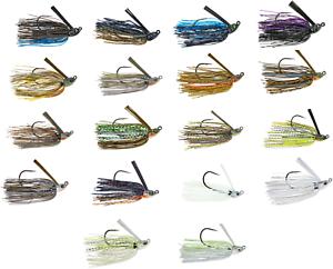 3//8 or 1//2 oz Swimming Bass Fishing Jig 6th Sense Divine Swim Jig 1//4