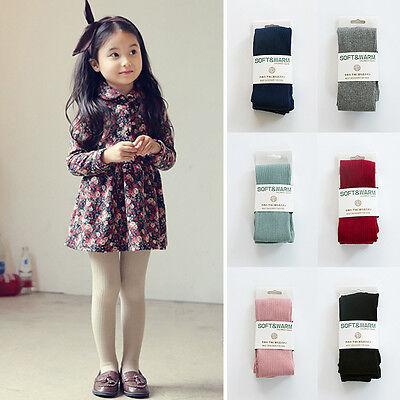 Baby Kids Girls Soft Cotton Warm Tights Socks Stockings Pants Hosiery Pantyhose