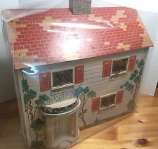 DOLL HOUSE Clear Vinyl dust cover Custom size Fits SMALLER size house
