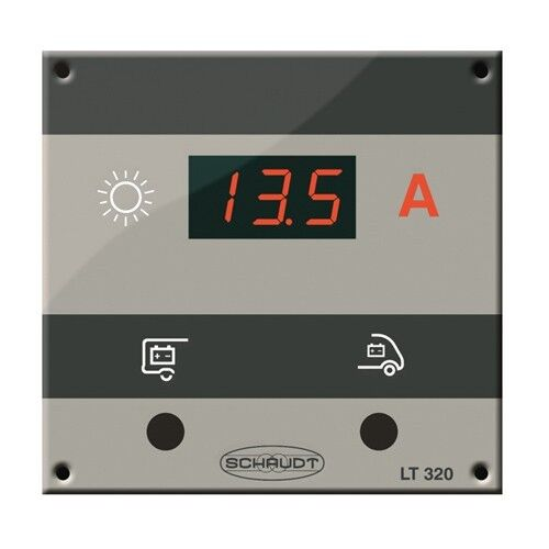 Control Panel Schaudt LT 320 Solar for LR & LRM charge controllers for campers