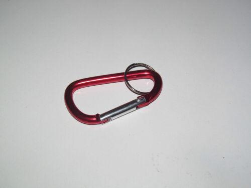 Porte Clés Moderne Gadget Keychain Mousqueton Mètal 7 cm Modèle au choix