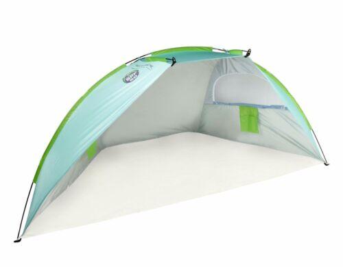 Beach Hut Cabana Sun Shelter Shade Tent w//floor SPF 50 w//carry bag 48x111x54 NIB