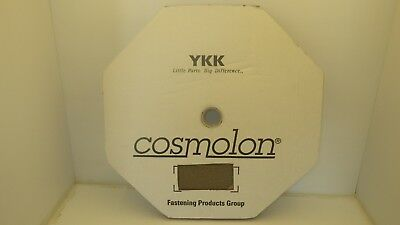 "COSMOLON 5//8/"" LOOP ONLY FASTENER SEW-ON TAPE TAN 50 YDS NIB KHAKI"