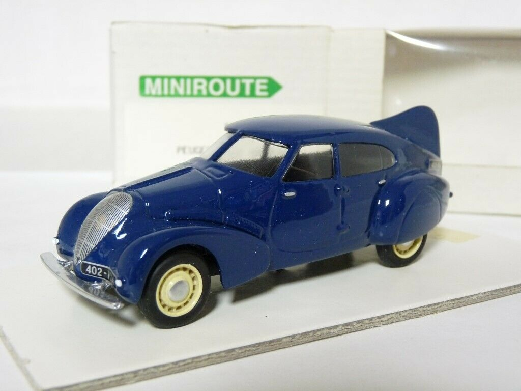 Miniroute 46 France 1 43 1936 1936 1936 Peugeot 402 Andreau Handmade Resin Model Car 2d21ce